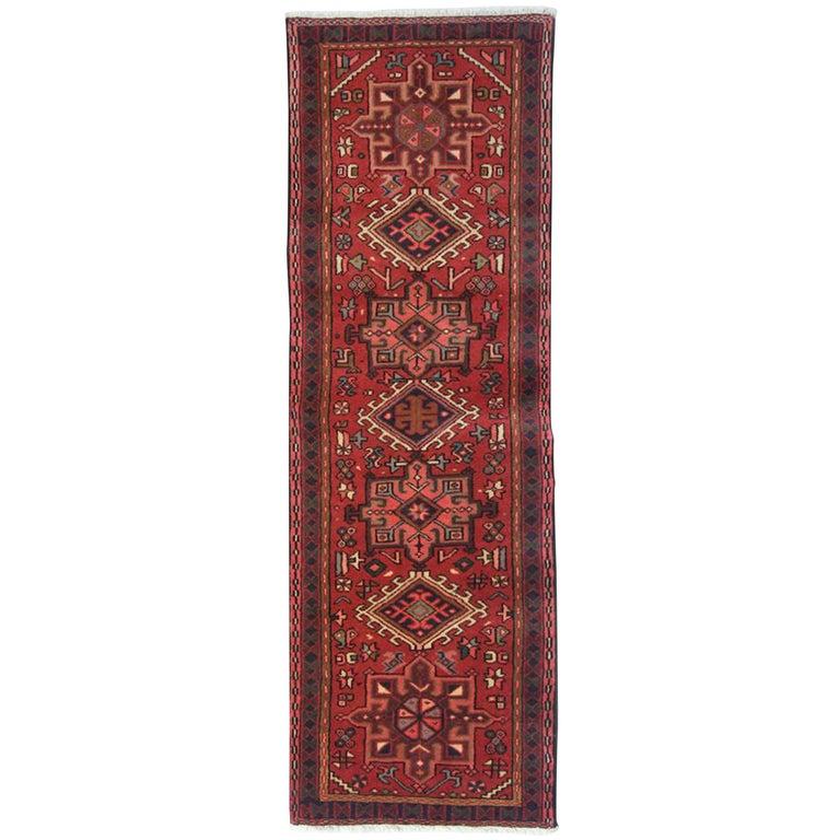 Vintage Rugs, Persian Rugs, Heriz Runner Rugs, Carpet from Iran