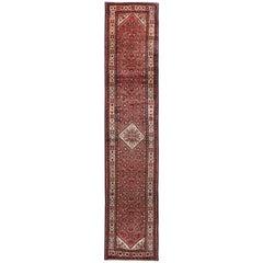 Vintage Persian, Hamedan Runner Rugs or Carpet