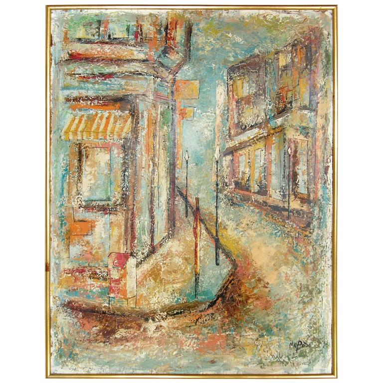 French Quarter Painting by William McBride, Jr
