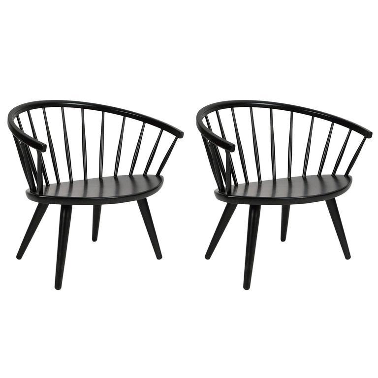 Yngve Ekström Arka Chairs, circa 1955