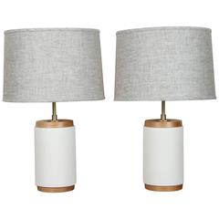 Pair of Porter Lamps by Stone and Sawyer