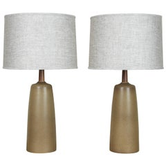 Pair of Tor Lamps by Stone and Sawyer for Lawson-Fenning