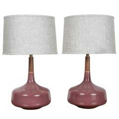 Pair of Hilo Lamps by Stone and Sawyer for Lawson-Fenning