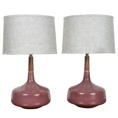 "Pair of ""Hilo"" Lamps by Stone and Sawyer"