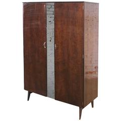 Mid-Century Modern Tola Wardrobe by Alphons Loebenstein for Meredew Design '62