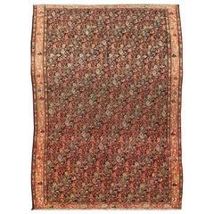 Antique Mishan Malayer Rug
