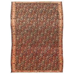 Antique Mishan Malayer Rug