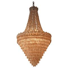 Spanish Empire Style Crystal Chandelier