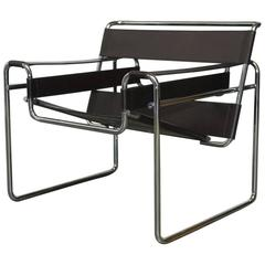 Mid-Century Wassily Chair by Marcel Breuer for Stendig