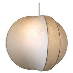 Italian Design Pendant Lamp Castiglioni Cocoon Style, 1960s