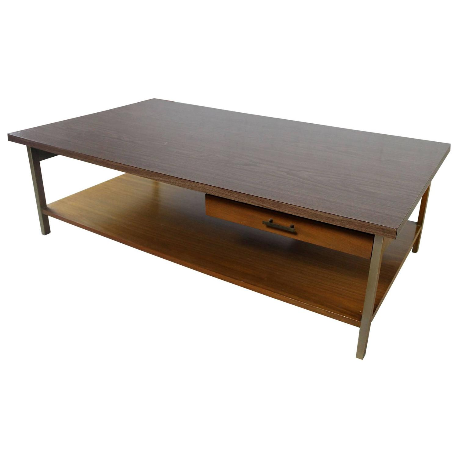Vintage Paul McCobb Linear Group Coffee Table by Calvin For Sale