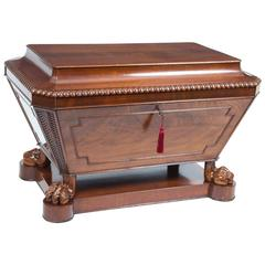 Antique Regency Sarcophagus Wine Cellarette, circa 1820