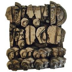 Original Marta Minujin Metal-Cast Sculpture 'Hand Signed'