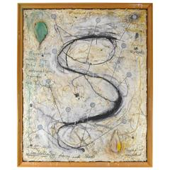 Mixed-Media Contemporary Art by Will Pappenheimer, 1991