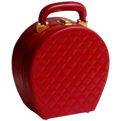 """Chanel """" Lipstick Red """" Vanity or Bag"""