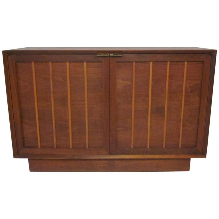 Nakashima Styled Walnut Server or Credenza