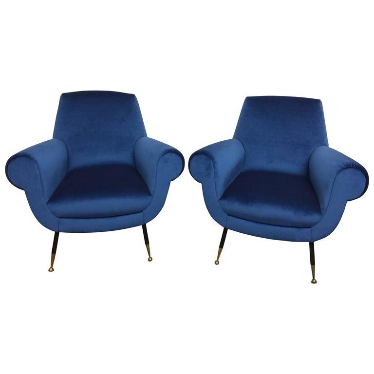 Gigi Radice Original Scrolled Armchairs