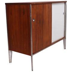 Mid-Century Modern Cabinet Walnut Plywood Eames Nelson Era