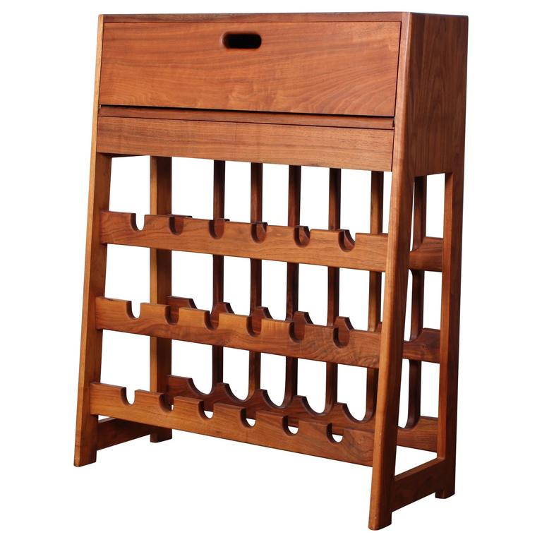Studio Craft Wine Rack Bar Cabinet For Sale At 1stdibs