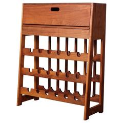 Studio Craft Wine Rack Bar Cabinet