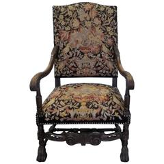 Late 19th Century English Lolling Armchair
