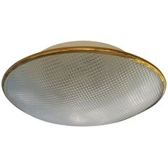 Italian Textured Flush Mount