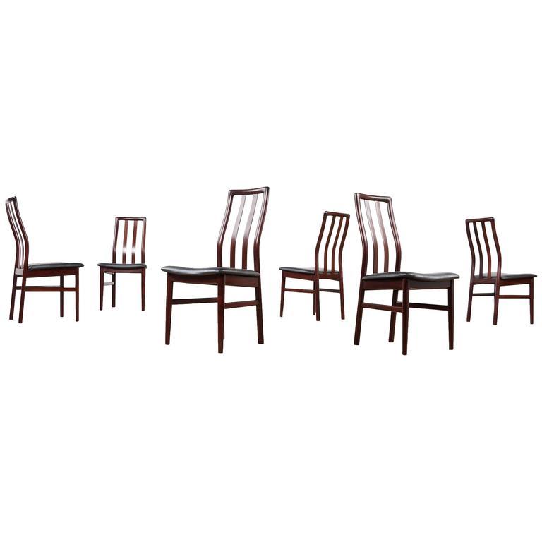 Rosewood Dining Chairs - Danish Modern