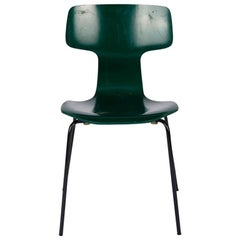 Mid-Century Modern T Chair by Arne Jacobsen, 1973 Edition