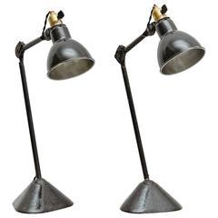 Pair of Lampe Gras Table Lamp, circa 1930