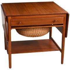 Hans J. Wegner Sewing Table, Model AT-33, 1960s