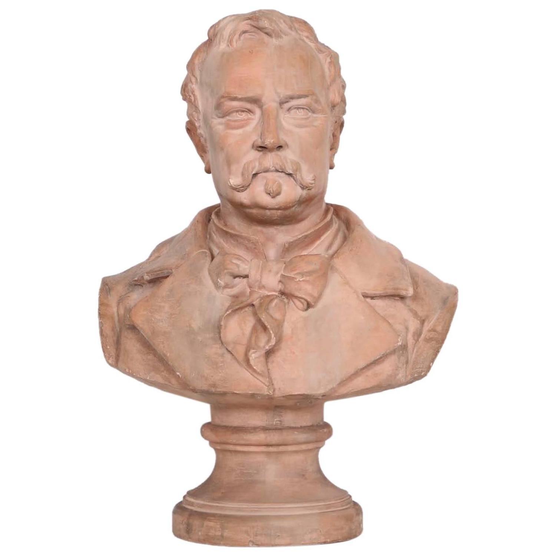 Bust of Victor Hugo, 1883
