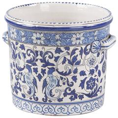 French 19th Century Nevers Ceramic Jardiniere