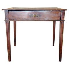 Louis XVI Style Walnut End Table, circa 1850