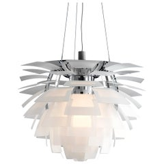 Monumental Poul Henningsen PH Glass Artichoke Chandelier for Louis Poulsen