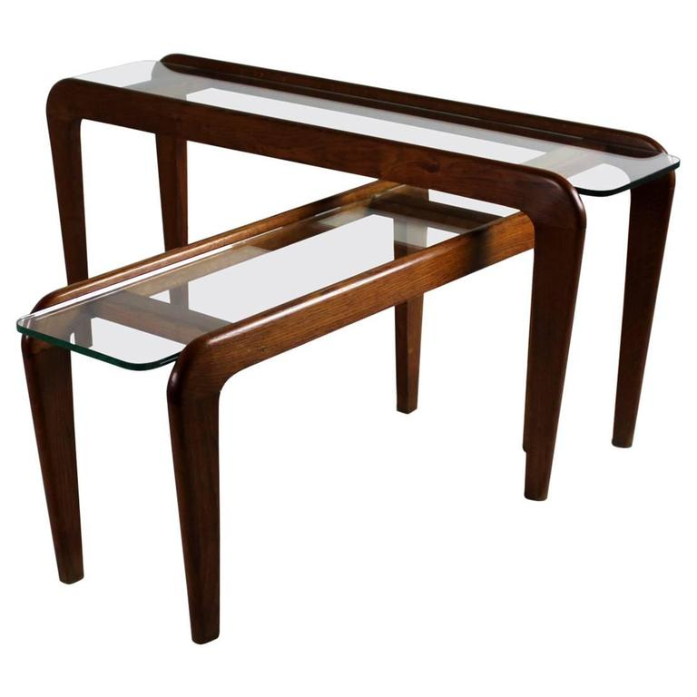 Gigogne tables by gustave gautier 1951 at 1stdibs - Table gigogne transparente ...