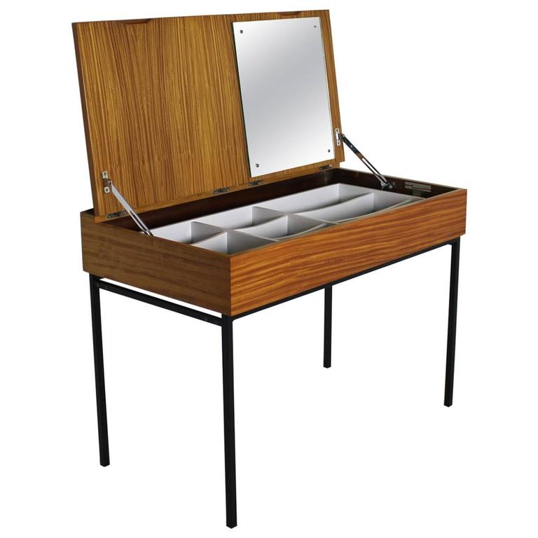 Dressing table by andr monpoix for meubles tv 1950 at for Thin dressing table