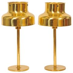 Pair of Swedish 1960s Lamps by Anders Perhson