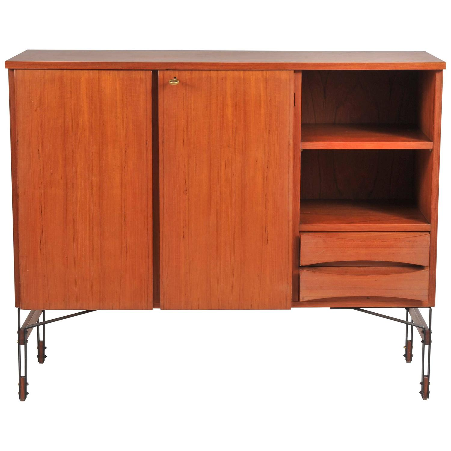 Sideboard in cherry wood for sale at stdibs