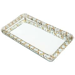 Vintage Murano Glass Rope Tray