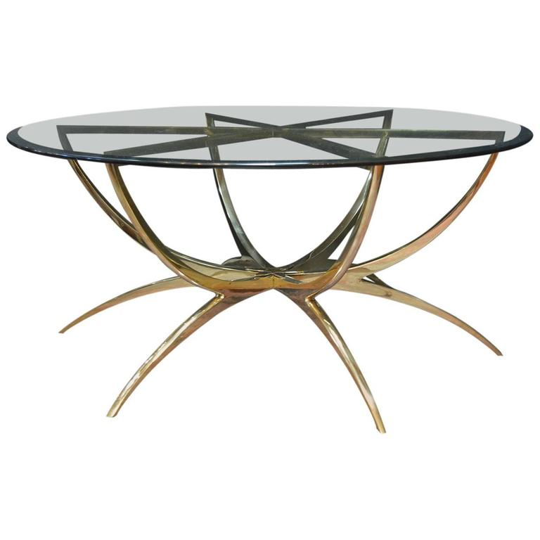 Solid Bronze Coffee Table At 1stdibs