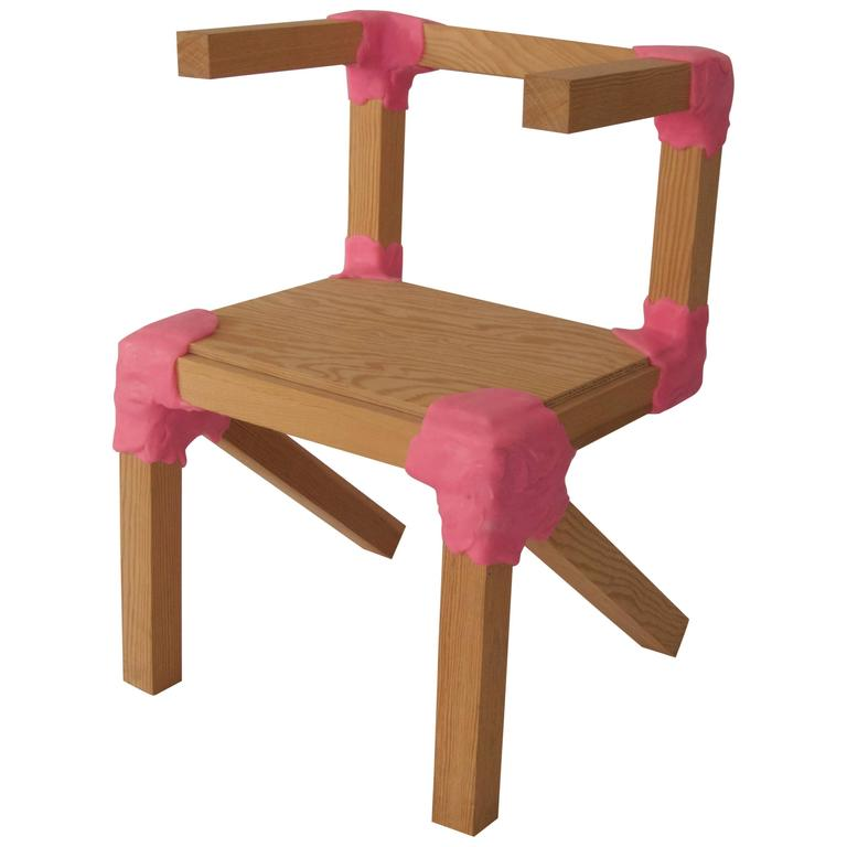"""""""Amateur Workshop"""" Kid's Chair by Jersey Seymour"""