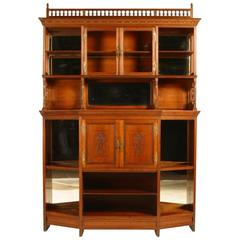 Walnut Aesthetic Movement Sideboard in the Manner of E W Godwin