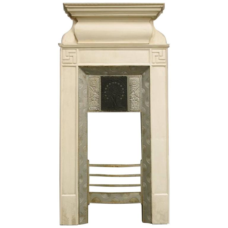 Aesthetic Movement Cast Iron Fireplace, Attributed to Thomas Jeckyll For Sale