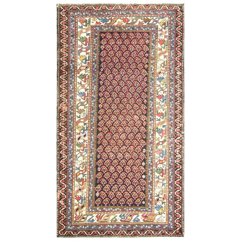 Amazing Antique Caucasian Rug