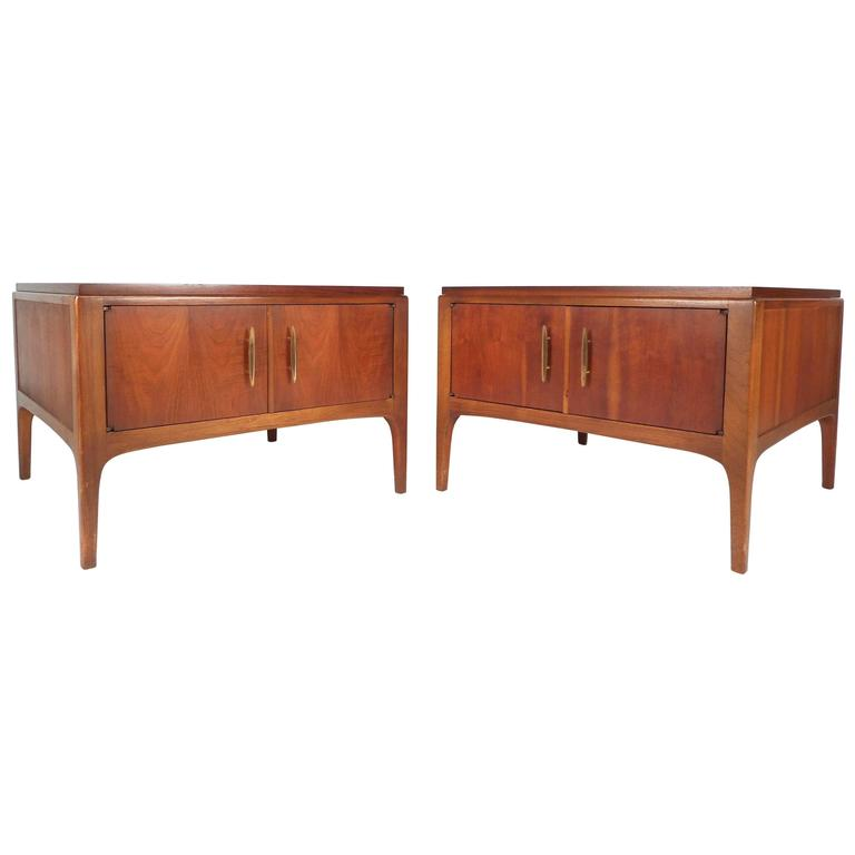 Mid-Century Modern Low End Tables by Lane Furniture