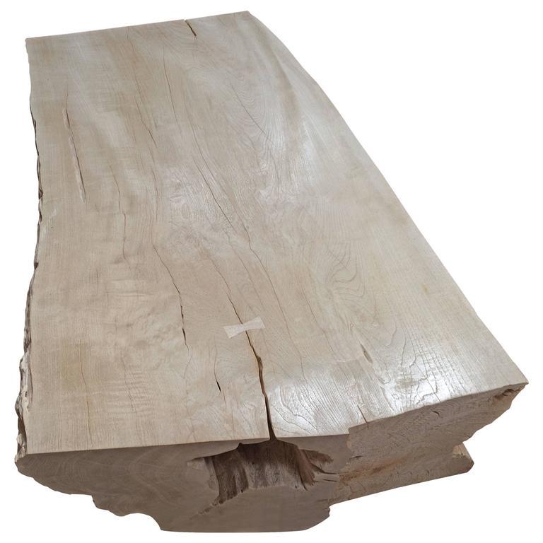 Andrianna Shamaris St. Barts Teak Wood Coffee Table For