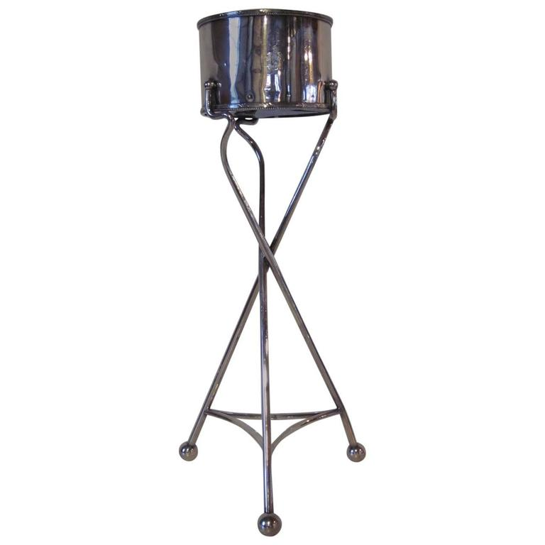 Hotel Straton Art Deco Styled Standing Ice Bucket