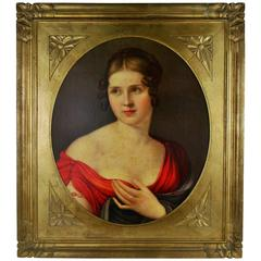 French Portrait Chromolithograph