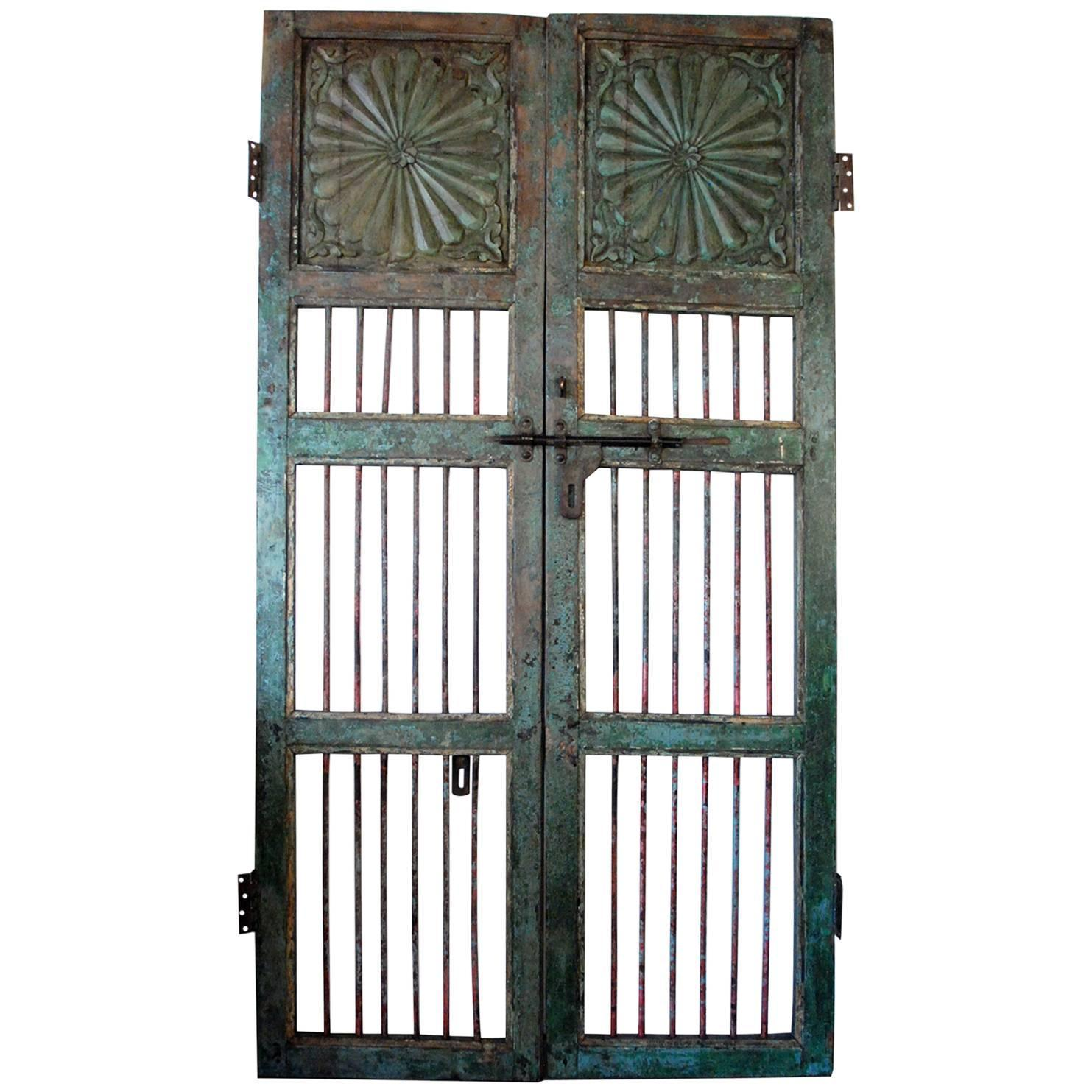 Antique Gate Or Door With Patina For Sale At 1stdibs