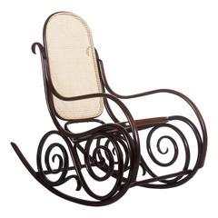 Thonet-Mundus Rocking Chair